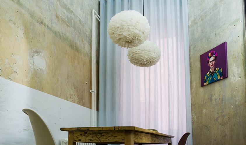 Maßgefertigt Vorhänge von thecurtainshop.de mit Wellenoptik in Berlin Prenzlauer Berg Wolliner Strasse 20 Berlin